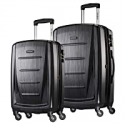 Deals List: Samsonite Winfield 2 Hardside Expandable Luggage with Spinner Wheels, Brushed Anthracite, 2-Piece Set (20/24)