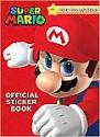 Deals List: Super Mario Official Sticker Book (Paperback)
