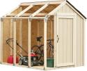 Deals List: 2x4basics 90192MI Custom Shed Kit with Peak Roof