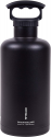 Deals List: Fifty/Fifty Growler, Double Wall Vacuum Insulated Water Bottle, Stainless Steel, 3 Finger Cap w/ Standard Top, Black, 64oz/1.9L, V65001BK0