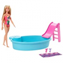 Deals List: Barbie Doll, 11.5-Inch Blonde, and Pool Playset