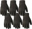 Deals List: 6 Pair Wells Lamont Bulk Pack Jersey Cotton Work & Gardening Gloves (Large)