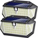 Deals List: 2PK Biling Solar Lights Outdoor 266 LED w/Reflector