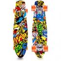 Deals List: Lusper Skateboard Complete Mini Cruiser Retro Skateboard