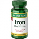 Deals List: Nature's Bounty Iron 65 Mg. 100 Tablets