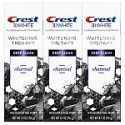 Deals List: Crest Charcoal 3D White Toothpaste, Whitening Therapy Deep Clean with Fluoride, Invigorating Mint, 4.1 Ounce, Pack of 3