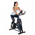 Deals List: Exerpeutic Bluetooth Indoor Cycling Bike with MyCloudFitness App (4208), Black and Blue