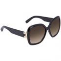Deals List: Salvatore Ferragamo Brown Gradient Square Sunglasses