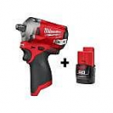 Deals List: M12 FUEL 12-Volt Lithium-Ion Brushless Cordless Stubby 1/2 in. Impact Wrench with M12 2.0Ah Battery