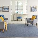 Deals List: Nourison Positano Flat-Weave Indoor/Outdoor Navy Blue 5' x 7' Area Rug , 5' x 7'