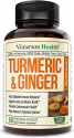 Deals List: Turmeric Curcumin with Ginger, 95% Curcuminoids with BioPerine. Tumeric Supplements, Occasional Joint Pain Relief, Inflammatory Response, Plant-Based Antioxidant. Vimerson Health 60 Capsules