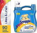 Deals List: Snuggle SuperCare Liquid Fabric Softener, Lilies and Linen, 95 Ounce, 90 Loads