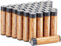 Deals List: Amazon Basics 36 Pack AAA High-Performance Alkaline Batteries, 10-Year Shelf Life, Easy to Open Value Pack