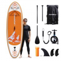 Deals List: Famistar 8-ft7-in Inflatable Stand Up Paddle Board SUP w/3 Fins