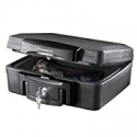 Deals List: SentrySafe H0100 Fireproof Waterproof Box with Key Lock, 0.17 Cubic Feet, Black