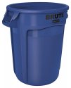 Deals List: Rubbermaid Commercial Products FG263200BLUE BRUTE Heavy-Duty Round Trash/Garbage Can, 32-Gallon