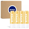 Deals List: 4 Pack Nivea Milk & Honey Lip Care 0.17 oz Tube