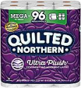 Deals List: Quilted Northern Ultra PlushToilet Paper, 24 Mega Rolls, 24 = 96 Regular Rolls, 3 Ply Bath Tissue