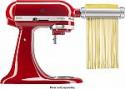 Deals List: KitchenAid - Pasta Cutter and Fresh Prep Attachment Bundle - White/Metal, KSMVSPR
