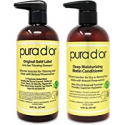 Deals List: 2-Pk PURA DOR Biotin Anti-Thinning Shampoo & Conditioner Set