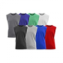 Deals List: Galaxy by Harvic Men's Assorted Muscle Tank Tee 5-Pack