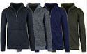 Deals List: 3-Pack Men's Marled Fleece Zip Sweater