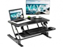 Deals List: VIVO Gaming Desk w/ Z-Shaped Frame & Red LED Ambient Lighting