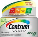 Deals List: 80-Count Centrum Silver Multivitamin (Adults 50 Plus)