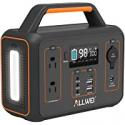 Deals List: ALLWEI Portable Power Station 300W/Peak 600W Solar Generator