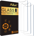 Deals List: Ailun Screen Protector Compatible for iPhone XS, iPhone X, iPhone 11 Pro,3 Pack,5.8 Inch Display Case Friendly Tempered Glass