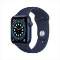 Deals List: Apple Watch Series 6 GPS, 44mm Blue Aluminum Case with Deep Navy Sport Band