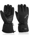 Deals List: Ski Gloves - VELAZZIO Waterproof Breathable Snowboard Gloves, 3M Thinsulate Insulated Warm Winter Snow Gloves, Fits both Men & Women