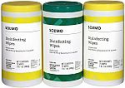 Deals List:  225-Ct Amazon Brand - Solimo Disinfecting Wipes (Lemon Scent & Fresh Scent)