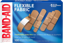 Deals List: Band-Aid Brand Flexible Fabric Adhesive Bandages for Wound Care & First Aid, Assorted Sizes, 100 ct, Beige