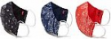 Deals List: Levi's Re-Usable Bandana Print Reversible Face Mask (Pack of 3)