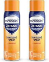 Deals List: Microban 24 Hour Disinfectant Sanitizing Spray, Citrus Scent, 2 Count, 15 fl oz Each