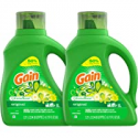 Deals List: Gain Laundry Detergent Liquid Plus Aroma Boost, Original Scent, HE Compatible, 96 Loads Total, 75 Fl Oz (Pack of 2)
