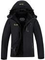 Deals List: MOERDENG Women's Waterproof Ski Jacket Warm Winter Snow Coat Mountain Windbreaker Hooded Raincoat Snowboarding Jackets