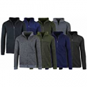 Deals List:  2-Pack Men's or Women's Sherpa Lined Fleece Hoodies (Various Colors)