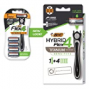Deals List: BIC Flex 4 Sensitive Hybrid Mens 4-Blade Disposable Razor