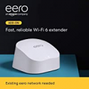 Deals List: Introducing Amazon eero 6 dual-band mesh Wi-Fi 6 extender - expands existing eero network