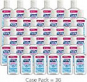 Deals List:  PURELL Advanced Hand Sanitizer Refreshing Gel, Clean Scent, 1 fl oz Flip-Cap Bottle with Display Bowl (Pack of 36)