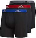 Deals List: 3-Pair adidas Men's Stretch Cotton Boxer Brief Underwear