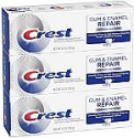 Deals List: Crest Gum & Enamel Repair Toothpaste, Advanced Whitening, 4.1oz (Pack of 3)