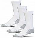 Deals List: 3-Pairs Under Armour Adult Heatgear Tech Crew Socks