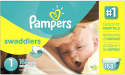 Deals List: 192CT Pampers Swaddlers Diapers Super Pack Size 1