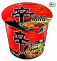 Deals List: Nongshim Shin Cup Noodle Soup, Gourmet Spicy, 2.64 Ounce (Pack of 6)