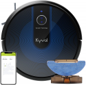 Deals List: Kyvol Cybovac E30 Robot Vacuum Cleaner Smart Navigation, 2200Pa Strong Suction, 150 mins Runtime, Robotic Vacuum Cleaner, Wi-Fi Connected, Works with Alexa, Ideal for Pet Hair, Carpets & Hard Floors
