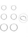 Deals List: Silver Hoop Earrings- Cartilage Earring Endless Small Hoop Earrings Set for Women Men Girls,3 Pairs of Hypoallergenic 925 Sterling Silver Tragus Earrings Nose Lip Rings (8mm/10mm/12mm)