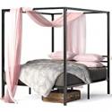 Deals List: Zinus Patricia Metal Framed Canopy Platform Bed Frame Full